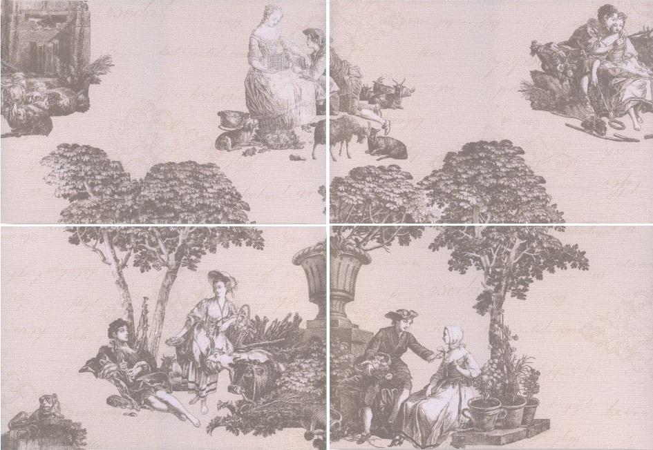 Keraamilised dekoori Pastorale