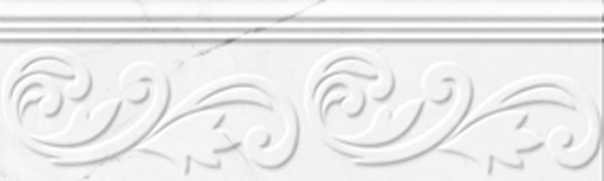 Bordüür Absolute Modern White