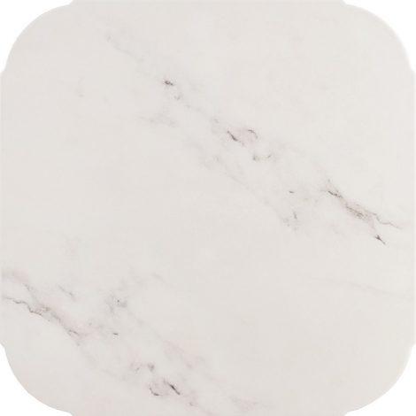 Põrandaplaat Texas White - matt marmorjas klassikaline keraamiline plaat