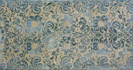 kuldne smaragdroheline keraamiline plaat