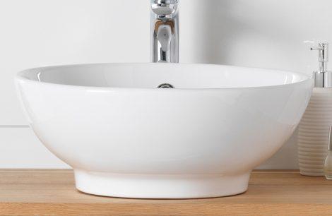 Pinnapealne valamu Fine. Skandinaavia vannitoamööbel.