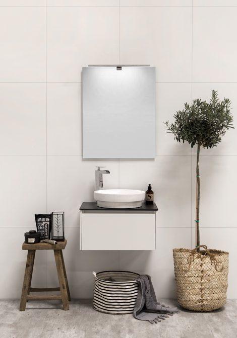 Segisti Shine, minimalistlik vannitoamööbel