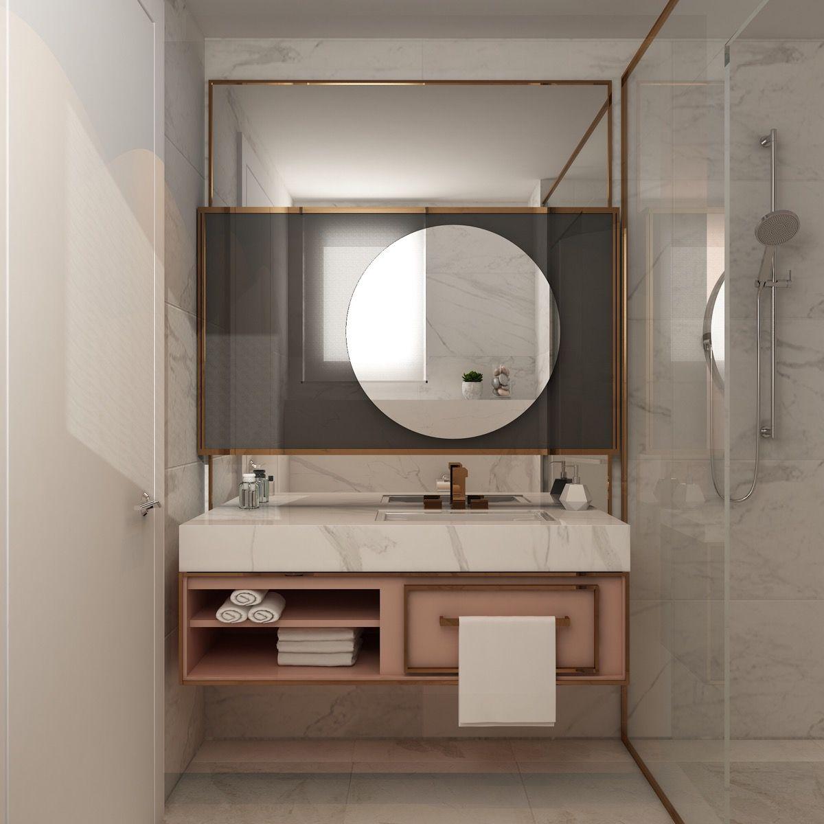 Vannituba kujundusideed LINTMAN marmor