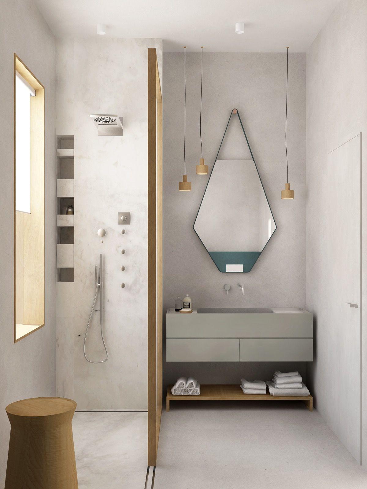 Vannituba kujundusideed LINTMAN minimalistlik