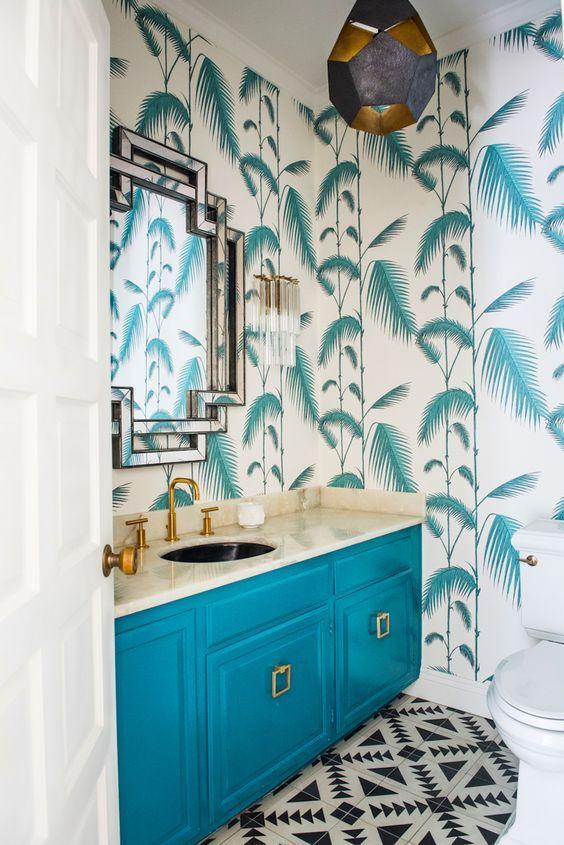 vannituba kujundusideed LINTMAN värviline