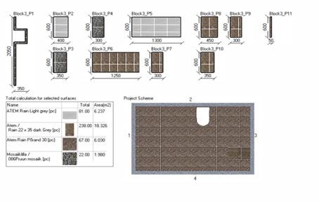 3D joonis plaatijale