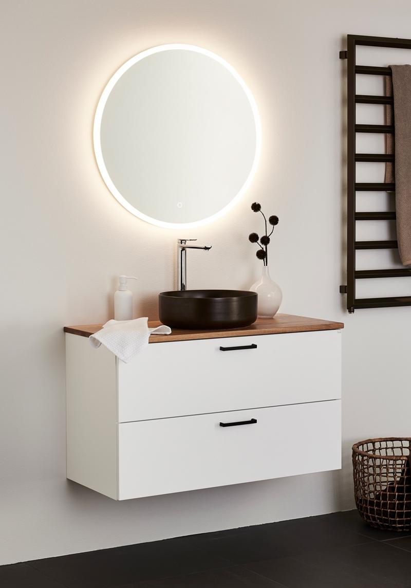 Hafa vannitoamööbel valgustusega peegel
