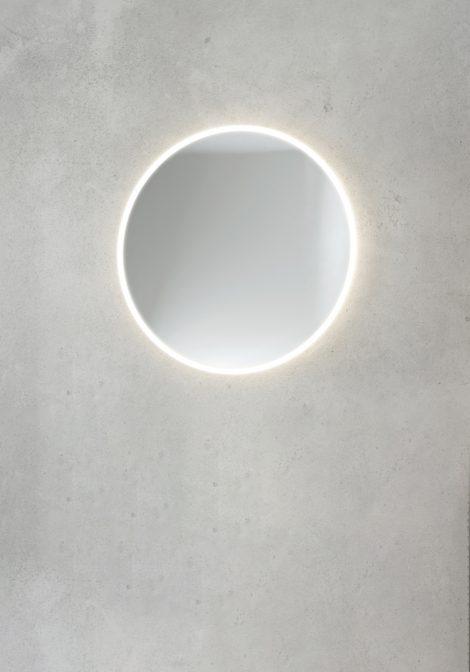 Ümar LED valgustiga peegel