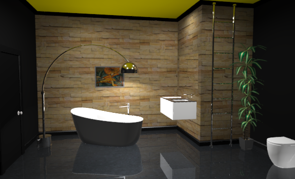 3D vannitoa disain