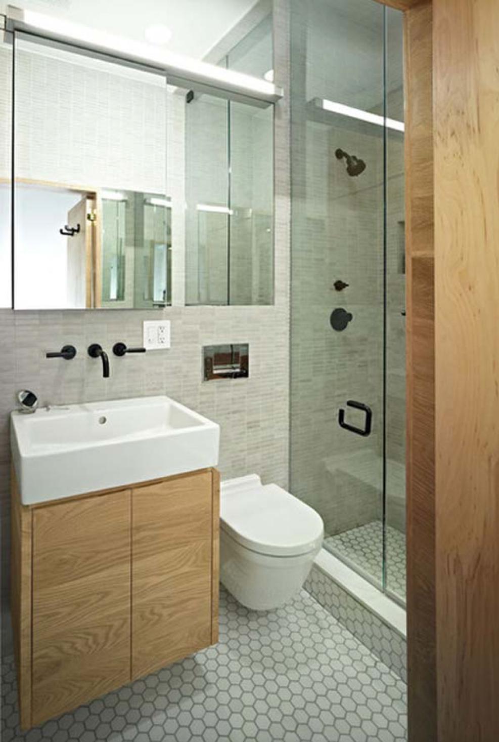 väike vannituba sisekujundus