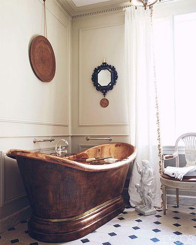 vintage stiilis vannituba