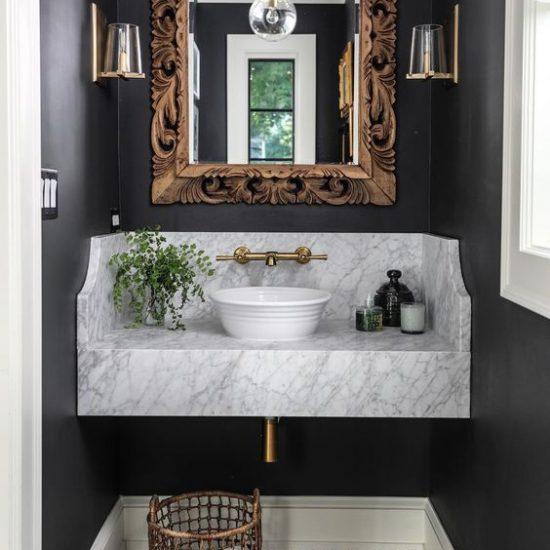 Foto: http://www.dailydreamdecor.com/2018/10/7-ways-to-jazz-up-your-powder-room.html
