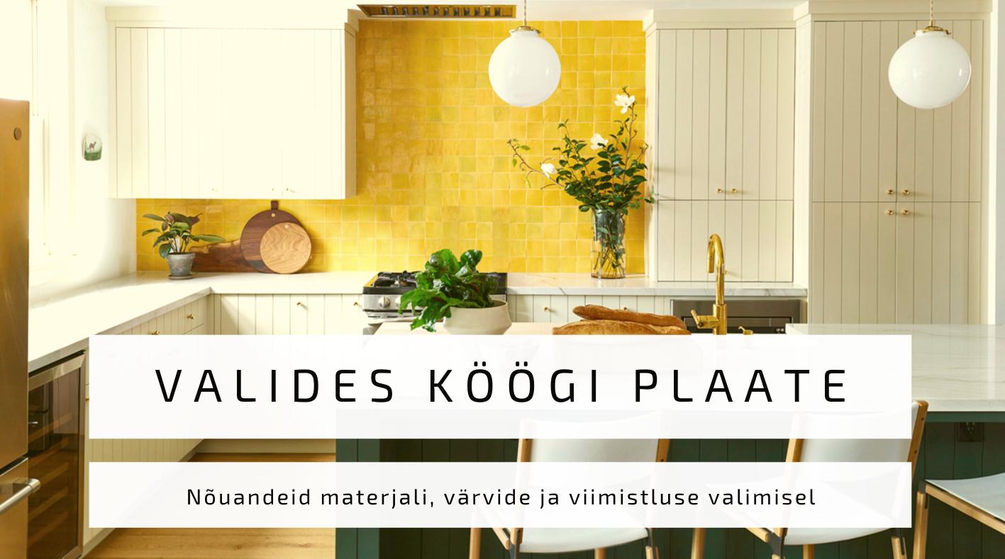 Köögi plaadid