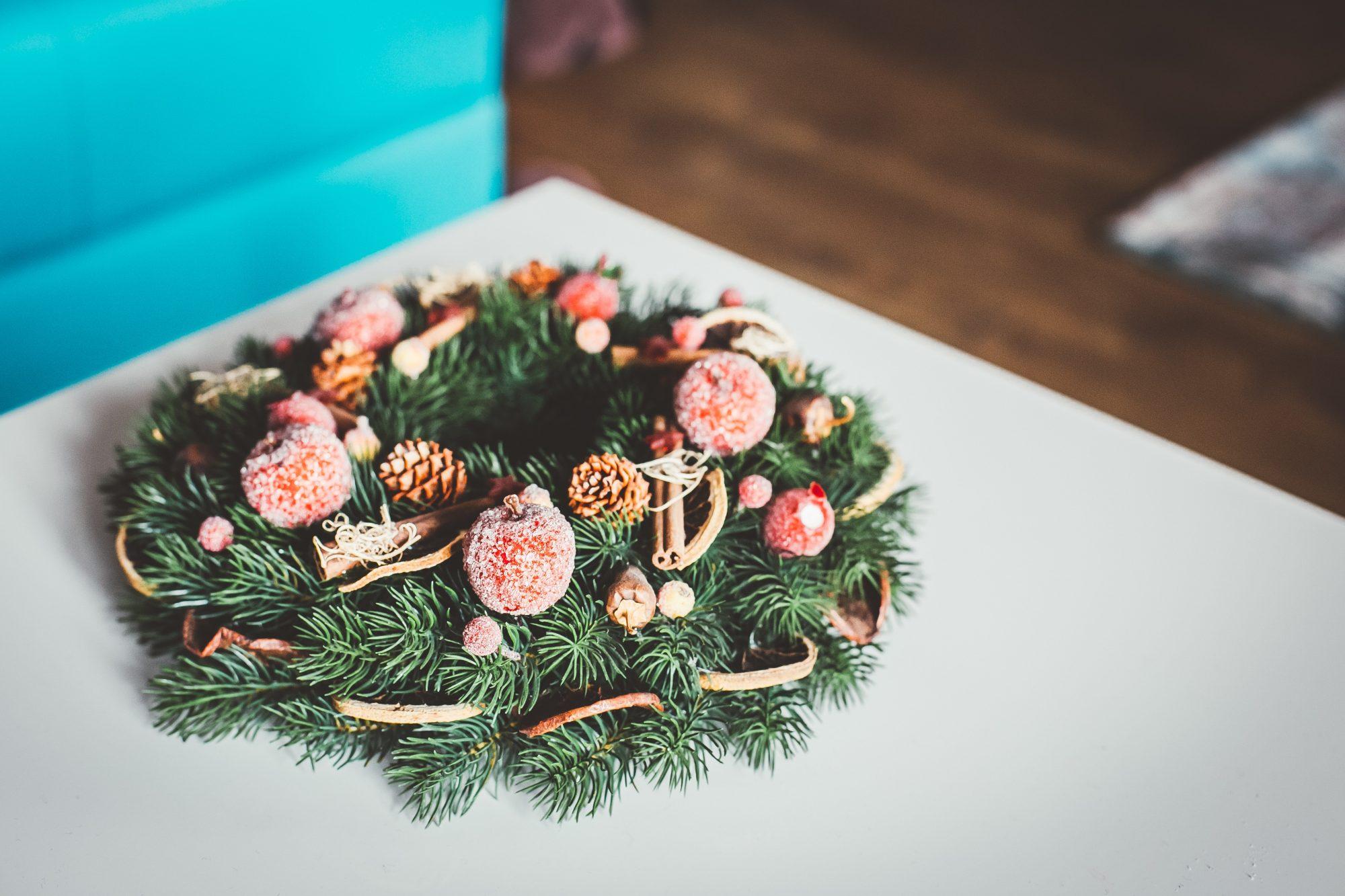jõulukaunistused kuusepärg