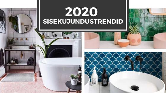 2020 trendid sisekujundustrendid