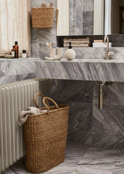 vannitoa dekoratsioonid pesukorv