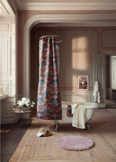 vannitoa dekoratsioonid dushikardin
