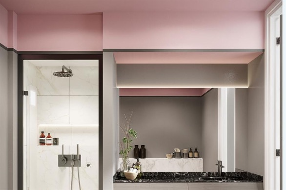värviline vannitoa lagi luksuslik vannituba soodsalt