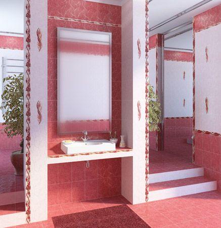 Bordüür Alexandria Pink
