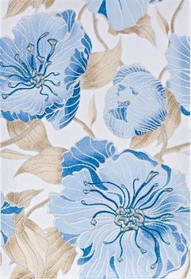 Dekoor Elibrio Blue Flower