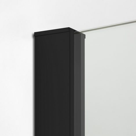 Dušinurk New Modus Black Simple