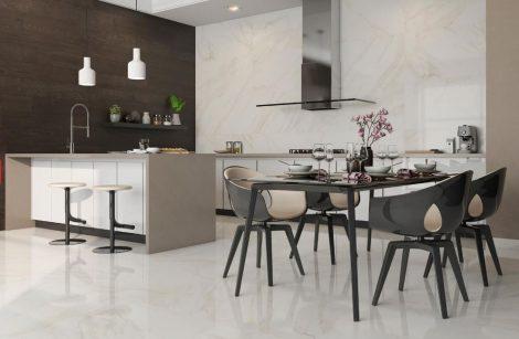 Portselan plaadid Tresana valge marmor külmakindlad