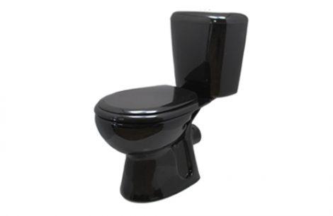 Musta värvi wc-pott