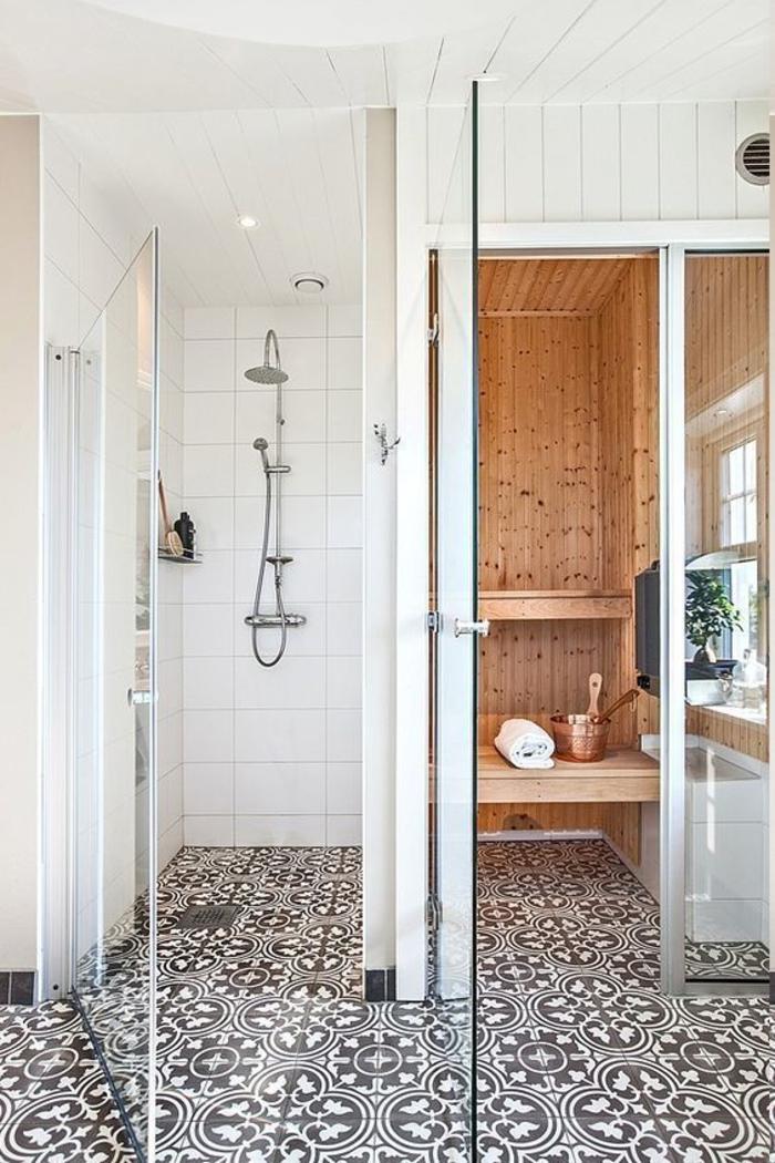Saun vannitoas