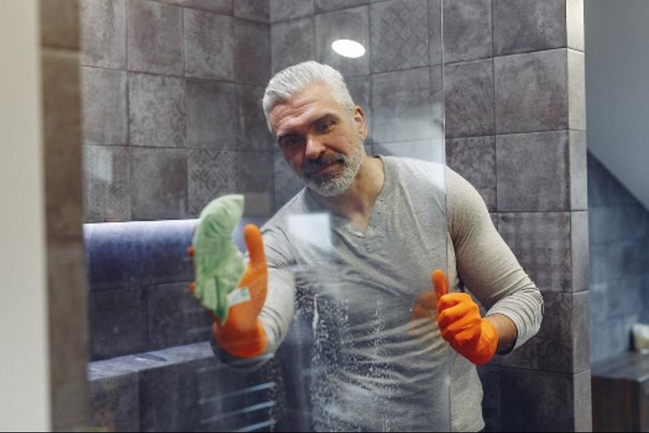 duširuumi puhastamine