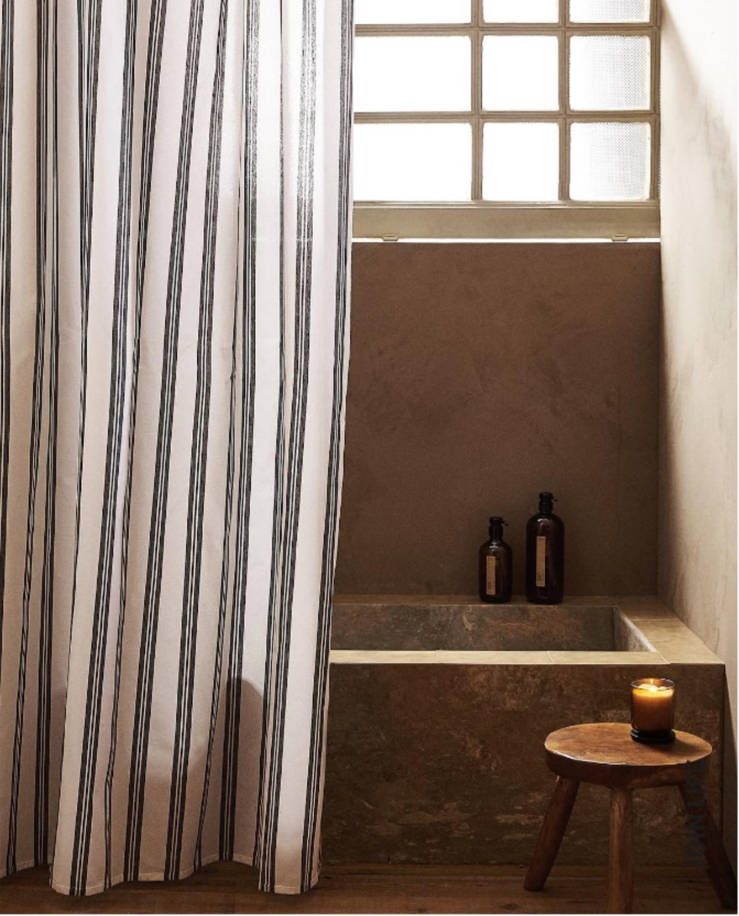 keskkonnasõbraliku vannitoa dushikardin