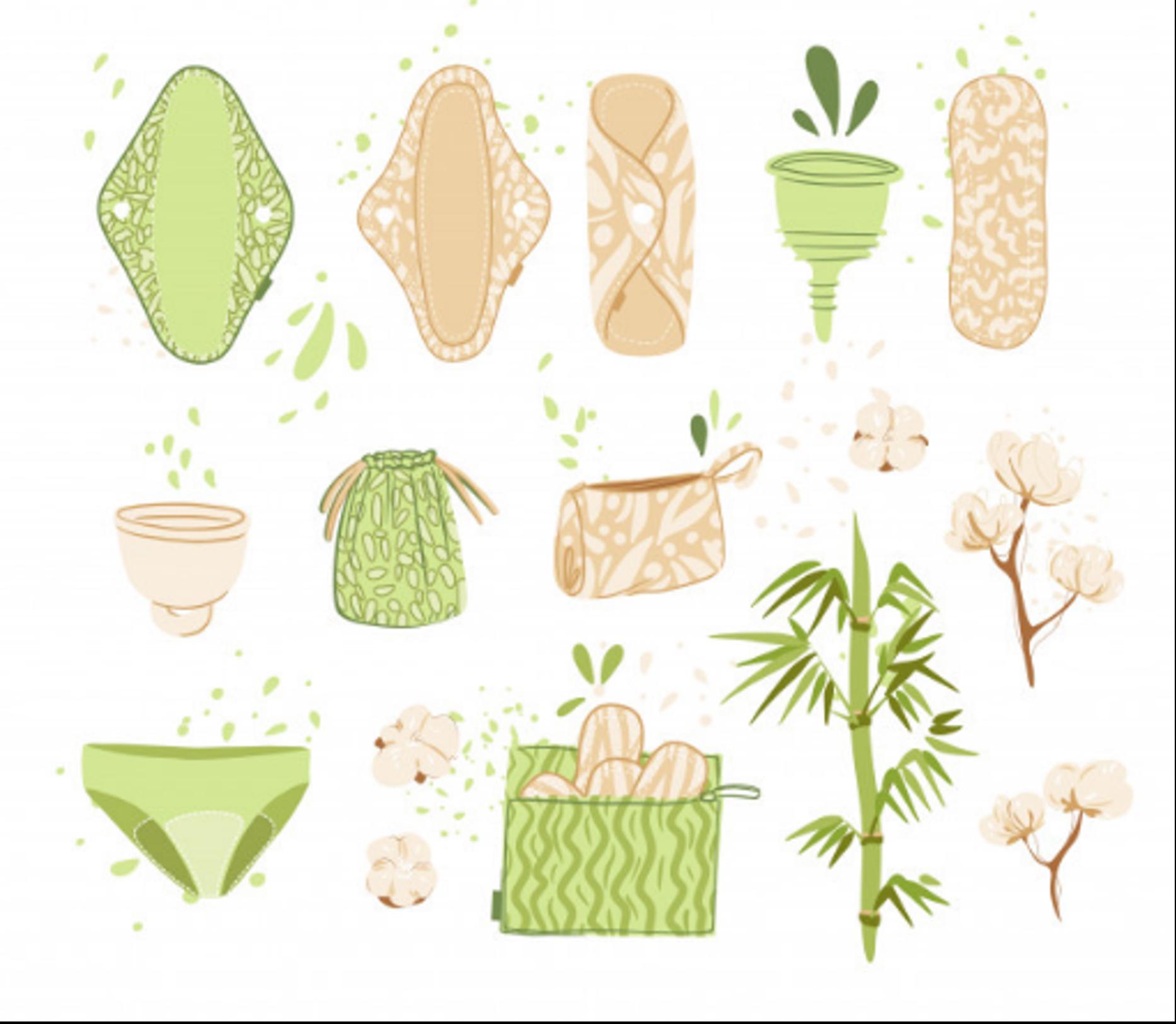 keskkonnasõbraliku vannitoa hügieenitarbed