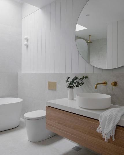 minimalistlik stiil vannituba sisekujundus