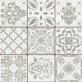 Mustriline põrandaplaat Portugal Gray Dekoor