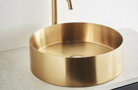Valamu Circle Seel Brass