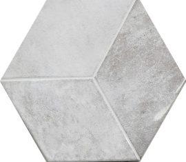 Heksagon seinaplaat Kingsbury Blanco Hexagon